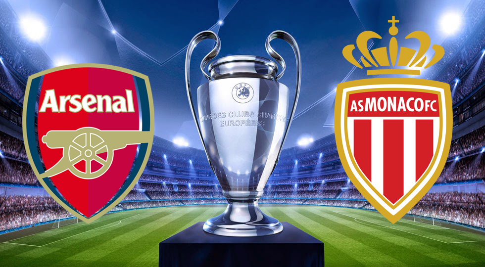 Arsenal_x_MonacoGuia_da_liga_dos-campeões_championsLeague_Confrontos