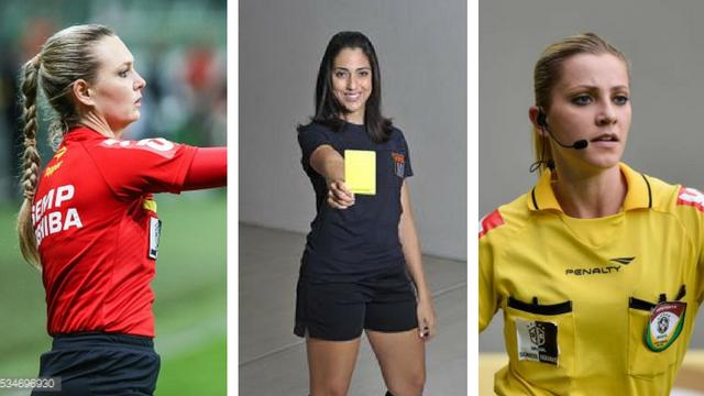 Musas da bola  Veja as 10 mulheres mais gatas da arbitragem brasileira f20740d04ffd7